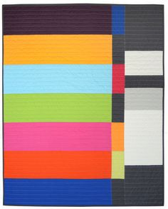 Graphic Modern Baby Quilt  The Lendzion by bperrino on Etsy, $155.00