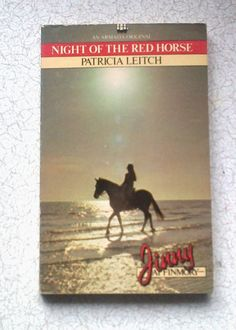 VINTAGE Pony Book  Night of the Red Horse by by CrowCottageCrafts