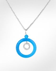 Antica Murrina Circle - Murano Glass Pendant Necklace i want it!