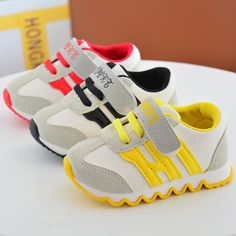 2017 New Spring Children Footwear Baby Toddler Canvas Shoes Girls/ Boys Sport Shoe Antislip Soft Bottom Kids Sneakers