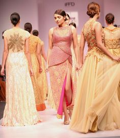 @PerfectWoman1 Eminent Fashion Designers showcase their collection at Premia India Runaway Week