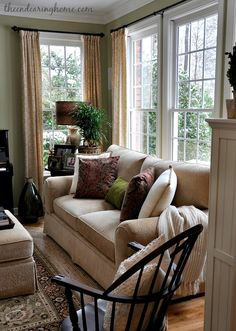Living Room Makeover - The Endearing Home