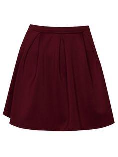 Kate Box Pleat Skater Skirt