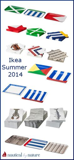 Nautical by Nature | Ikea Summer 2014 nautical