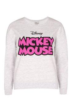 Sweat imprimé Mickey Mouse