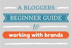 how bloggers can work with brands