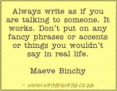 Find out more about the authorhere  ~~~  Writers Writeoffers the bestwriting coursesin South Africa.Writers Write- Write to communicate.