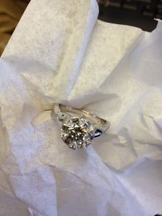 twisted shank Tacori inspired ring