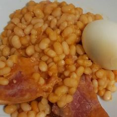 Jewish Recipes, Meat Recipes, Cooking Recipes, Black Eyed Peas, Food 52, Beans, Food And Drink, Favorite Recipes, Vegetables