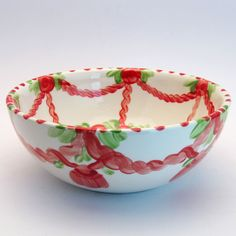 werburg Serving Bowls, Tableware, Red, Green, Tablewares, Dinnerware, Dishes, Place Settings, Mixing Bowls