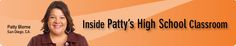 This has definitely rocked my world -- Inside Patty's High School Grade Classroom: Classroom Organization