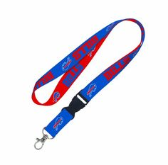 Officially licensed Lanyards are available in variety of sizes and styles, but our most popular is has 3/4″ width. This style features a swivel j hook and plastic detachable buckle. These lanyards come in your favorite team's vibrant colors. The J-hook end is perfect for keys, badges, and ticket holders. This item is made both in China and the U.S.