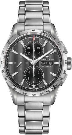 H43516131, 43516131, Hamilton broadway auto chrono watch, mens