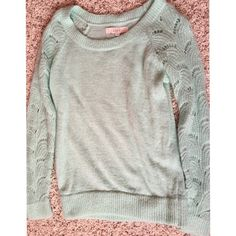 The LOFT Teal Sweater Super comfortable and good for any occasion. Perfect condition. No rips or problems. LOFT Sweaters