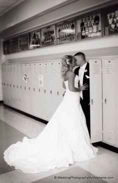 Highschool Sweetheart Photo - too cute!!