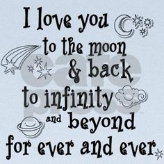 LOVE you to the MOON AND BACK - KEEP CALM AND CARRY ON Image ...