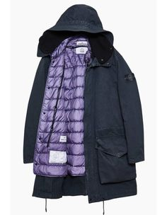 Style and comfort - comfortable light winter jacket
