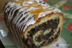 makowiec krucho-drożdżowy Polish Desserts, Polish Recipes, No Bake Desserts, Polish Food, Hungarian Cake, Pudding Cake, Food Inspiration, Food To Make, Cake Recipes