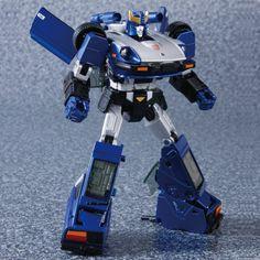 Transformers News: Transformers Masterpiece MP-18B Blue Streak - New Pics from TakaraTomy Mall