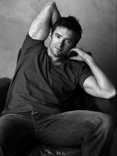 Hugh Jackman. if he were really wolverine, i would dump my boyfriend and marry him