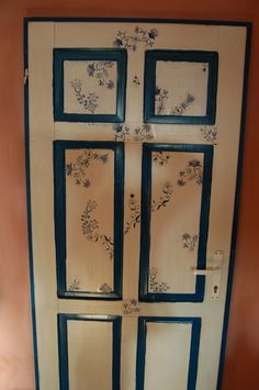 decoupage your door!