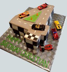 Number 4 Cake, via Flickr.