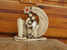 Nativity Scenes, Ceramic Art, Advent, Holiday, Christmas, Candle Holders, Pottery, Clay, Candles
