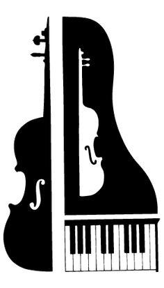 Cello With Piano Cartoon Clipart - Clipart Kid