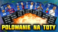 Fifa 16 | POLOWANIE NA TOTY [#5] | TEAM OF THE YEAR - OTWIERANIE PACZEK ...
