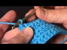 Video Tutorial: Reverse Single Crochet (Crab Stitch)