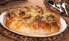 Tarta siria de pasta filo