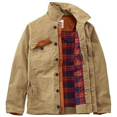 Timberland Waxed Chore Coat