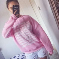 Autumn Fashion Women Pink Fleeced Thick Warm Hoodies Pullovers Hotline Bling Winter Sweatshirts New