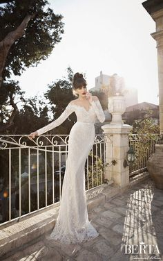 Berta Bridal Summer 2014 Wedding Dresses - Part 2 - http://www.weddinous.com/wedding-ideas/berta-bridal-summer-2014-wedding-dresses-part-2.html