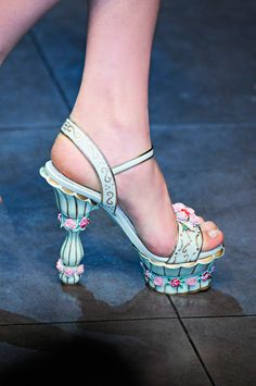 fantasy shoes      dolce and gabbana fall/winter 2012