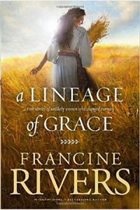 Francine Rivers is a favorite author of the Grapevine Studies staff. In her compilation of the five books in the best-selling Lineage of Grace series by Francine Rivers, we meet the five women whom God chose: - Tamar - Rahab - Ruth - Bathsheba and - Mary I Love Books, Good Books, Books To Read, My Books, Amazing Books, Amazing Things, Lineage Of Jesus, Will Herondale Quotes, Francine Rivers