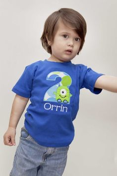 Cute shirt for a monster theme party