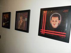 Gary Numan Fan Art using the Art Vinyl Triple Frame pack. More Numan at https://uk.pinterest.com/garylaundy/gary-numan-scrapbook/