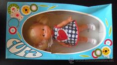 Lote 29855664: CUCA EN ESTUCHE. FAMOSA Vintage Dolls, Little Babies, Dog Bowls, Baby Dolls, Kuchen, Celebs, Puppets, Antique Dolls, Reborn Dolls
