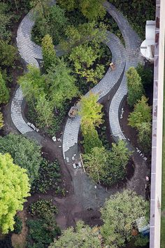Monk's Garden p.Isabella Stewart Gardner Museum Boston, MA d.MVVA by connie Landscape Architecture Design, Classical Architecture, Ancient Architecture, Sustainable Architecture, Different Plants, Urban Landscape, Japanese Landscape, Landscape Plans, Native Plants