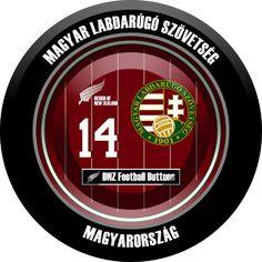 DNZ Football Buttons: Seleção da Hungria