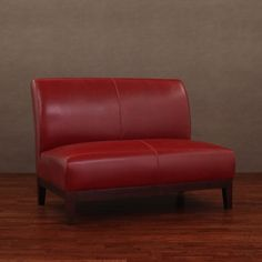 $459 Cole Burnt Red Leather Loveseat - Overstock™ Shopping - Great Deals on Sofas & Loveseats
