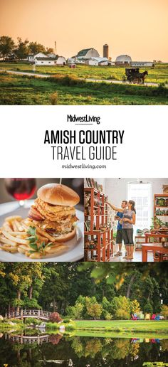 Two-Day Itinerary for Indiana's Amish Country Work Travel, Travel Usa, Amish Country Ohio, Best Places To Vacation, Vacation Spots, Beaches Turks And Caicos, Romantic Weekend Getaways, Celebrity Travel, Romantic Travel
