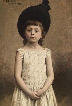 The Black Hat - BOKS, Evert Jan (Dutch, 1838-1914)