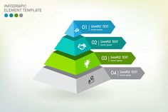 Check out Vector infographic template by VL Shop on Creative Market