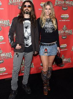Rob and Sherry Moon Zombie: so completely off the wall, always doing their own thing, coolest couple ever