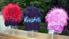 Rita Gaudiello: I call them Hope Hats because when your hair falls out during treatment, you hope it will grow back. I've knit 50 of them for The Johns Hopkins Cancer Center. They fit adult women.