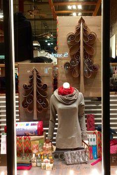 Hemp & Co. Christmas 2016 hempandcompany.com PropaganZa Visual Display & Design Visual Display, Display Design, Christmas Window Display, Christmas 2016, Hemp, Sweaters, Dresses, Fashion, Gowns