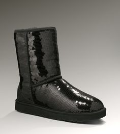 Women's Classic Short Sparkles By UGG Australia  Have these in black and silber love them!
