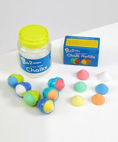 Another great find on #zulily! Baby Easy Grip Chalks & Refills #zulilyfinds